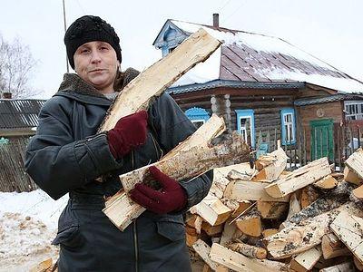 О том, как дрова вручали. ФОТОРЕПОРТАЖ