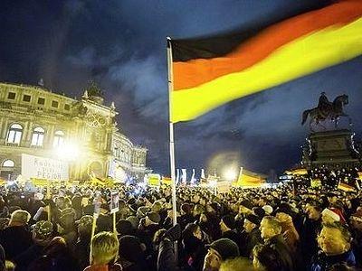17,5 тыс. человек вышли на антиисламскую демонстрацию в Германии