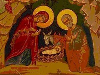 Nativity Greetings to New Calendar Churches
