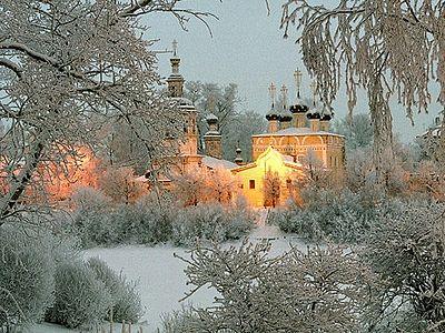 Благословенная зимушка-зима