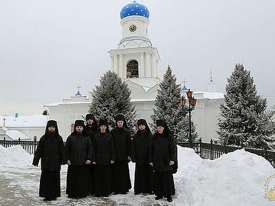 Братство Святогорской лавры пополнилось 7 иноками