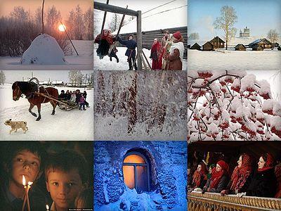 «Снег летит по всей России словно радостная весть»: ФОТОГАЛЕРЕЯ