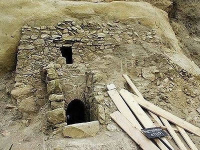 An ancient chapel discovered in the caves of the David-Gareja monastery complex