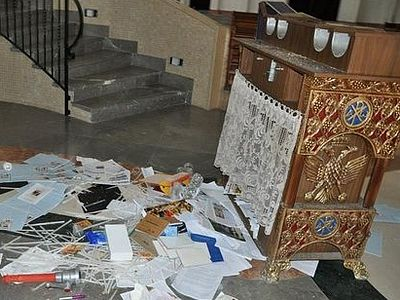 An Orthodox church robbed in Haifa