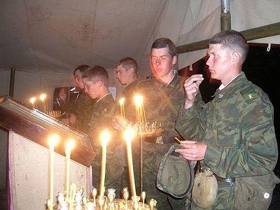 Более половины новобранцев, поступивших на службу в ВВО - православные