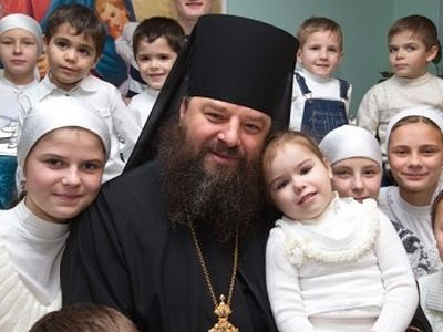 Ukrainian Orthodox Bishop calls on his Flock not to Surrender their Children to the Satanists