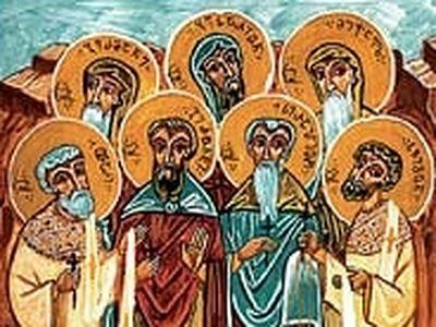 Venerable Martyrs Geronti, Serapion, German, Besarion, Mikael, Svimeon, and Otar of the Davit-Gareji Monastery (†1851)