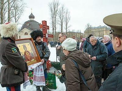 Крестный ход трезвенников состоялся в Петербурге