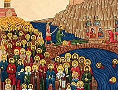 The Hundred Thousand Martyrs of Tbilisi (†1227)