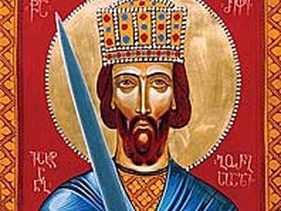Holy King Vakhtang Gorgasali (†502)