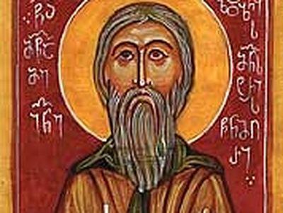 Holy Martyr Ioane, Abbot of Zedazeni Monastery (9th century)