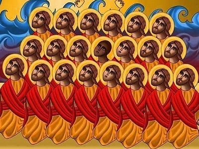 Coptic Church Canonizes The 21 Christians Murdered By Isis In Libya