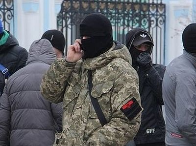 Ukrainian nationalists attack Moscow Patriarchate's church in Sumy