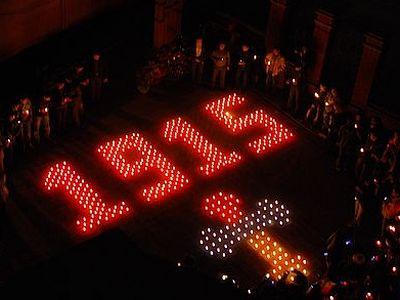 Более 600 городов России присоединятся к акции памяти 100-летия геноцида армян