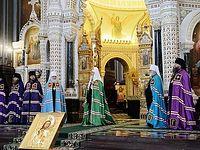 Проповедь в праздник Входа Господня в Иерусалим после Литургии в Храме Христа Спасителя