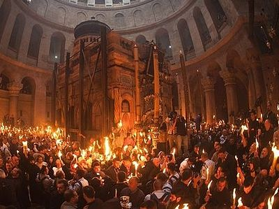 For the first time in the history, Holy Fire to be delivered to Serbia
