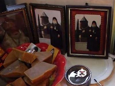 В церковном магазинчике в Тбилиси замироточила фотография прп.Гавриила (Ургебадзе)
