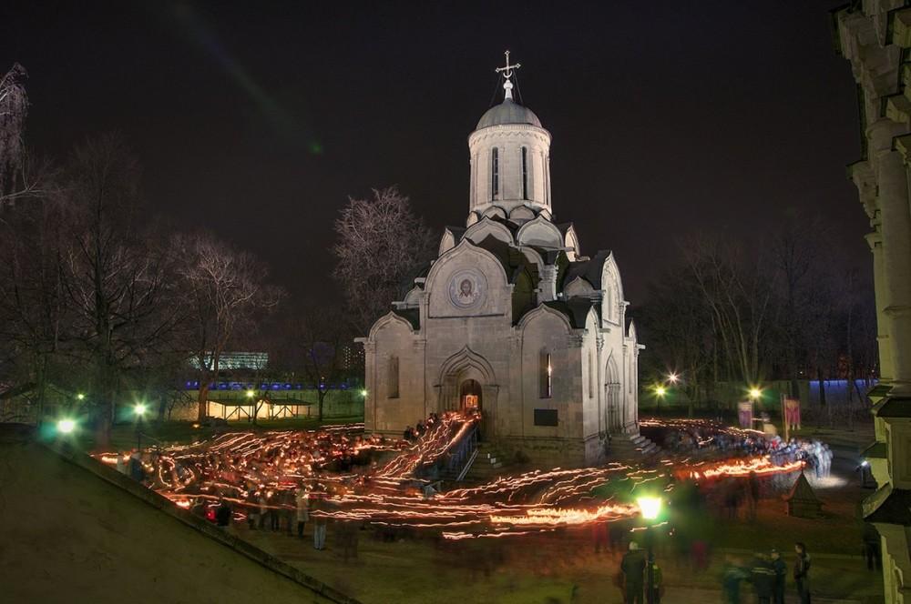 Москва. Андроников монастырь. Светлое Христово Воскресение