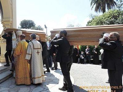 Сегодня останки вел.кн.Николая Николаевича будут привезены в Донской монастырь