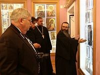 United States Ambassador to Russia visits the Holy Trinity-St. Sergius Lavra
