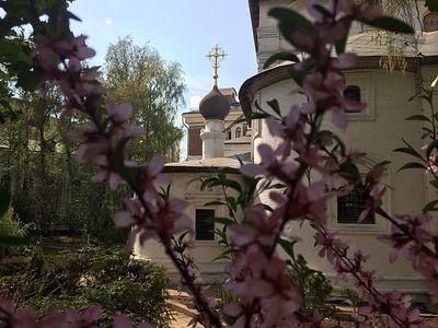 Божественная литургия в Сретенском монастыре в Неделю 4-ю по Пасхе, о расслабленном