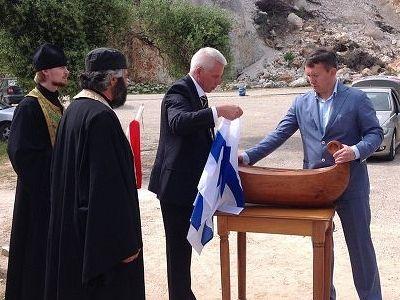 Мощи адмирала Ушакова перенесли в монастырь на острове Кефалония