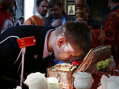 Ковчег с мощами Георгия Победоносца сегодня отправится в Ставрополь