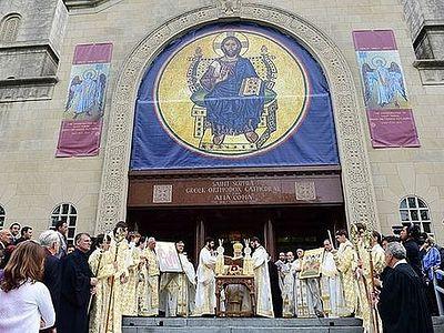 В Вашингтоне освятили Софийский собор