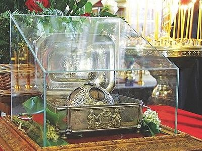 Greece - relics of Greatmartyr Anastasia, stolen three years ago, yet not found