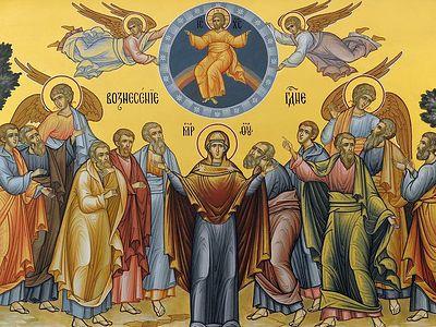 Всенощное бдение в Сретенском монастыре накануне Вознесения Господня