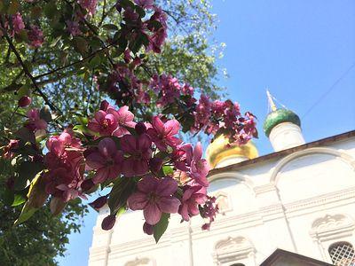 Всенощное бдение в Сретенском монастыре накануне Недели 7-й по Пасхе, святых отцев I Вселенского Собора