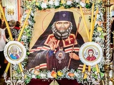 A Chapel in Greece Dedicated to St. John Maximovitch