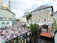 Проповедь в день Святой Троицы в Троице-Сергиевой лавре