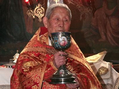 The last priest of the Chinese Autonomous Orthodox Church reposes in Shanghai