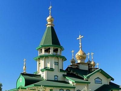 Эстония: в новом храме в Палдиски прошла первая служба