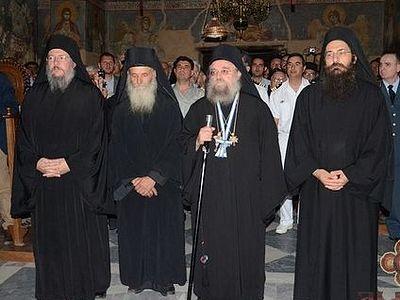На Афоне состоялась передача власти новой Священной Эпистасии