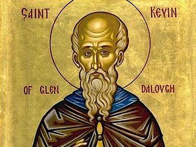 Venerable Kevin of Glendalough, Wonderworker