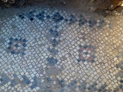 Early Christian Mosaic Floor Unearthed in Nazareth