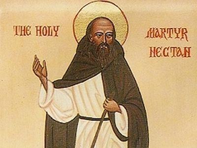 Holy Martyr Nectan of Hartland