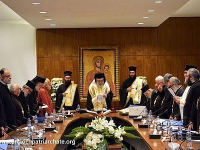 Антиохийский Патриархат прекращает всякое общение с Иерусалимской Церковью