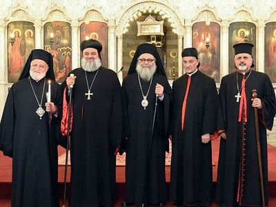 Five Syrian Patriarch address an appeal to Christians and Muslims living in Syria