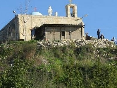 Израильская полиция разоряет церковь Икрит