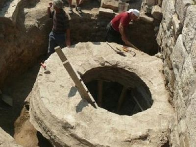Tomb of Christian Bulgarian prince martyred by his brother excavated in Pliska