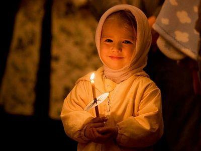 Молитва делает людей красивыми