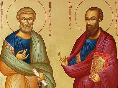 Всенощное бдение в Сретенском монастыре накануне Недели 6-й по Пятидеятнице, дня памяти святых первоверховных апостолов Петра и Павла