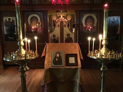 English Service to St. Paisios the Athonite Celebrated at the Hermitage