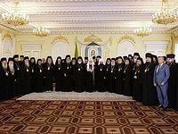 Состоялась встреча Святейшего Патриарха Кирилла с делегациями Поместных Православных Церквей