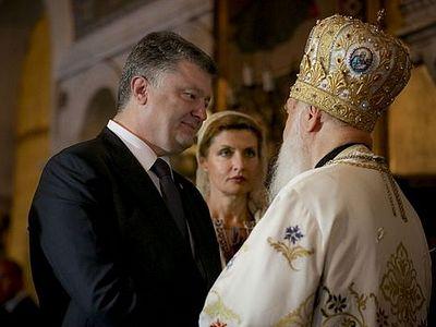 П.Порошенко: Украине нужна «своя» церковь