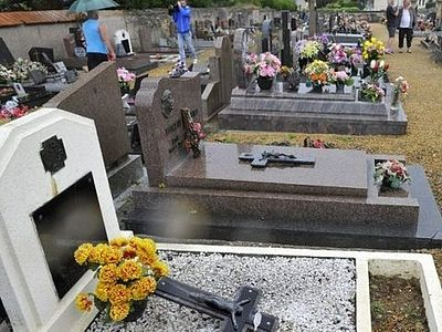Three teenagers desecrated 40 graves at a Christian cemetery in France