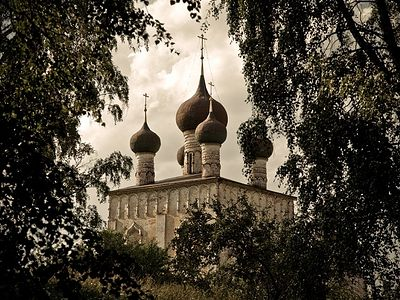 Borisoglebsky Monastery, founded in honor of the first Russian saints